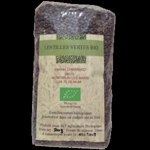 Groene linzen Bio 500g